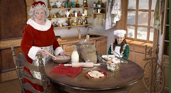 Mrs Claus and Elf Abby